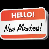 New members May