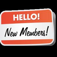 New members January