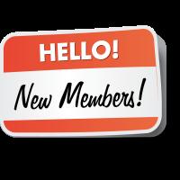 New members February