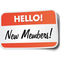 New members in March/April