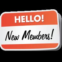 New members in August