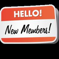New members from Jan/Feb