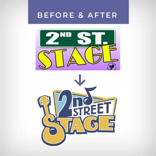 Logo Overhaul- 2nd Street Stage