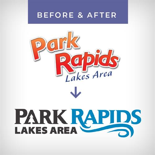 Logo Overhaul - Park Rapids Chamber