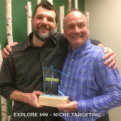 Explore MN Tourism Award for Niche Targeting