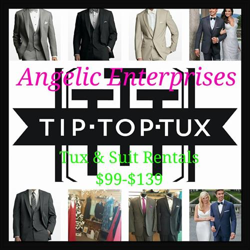 Tux Rentals available year round