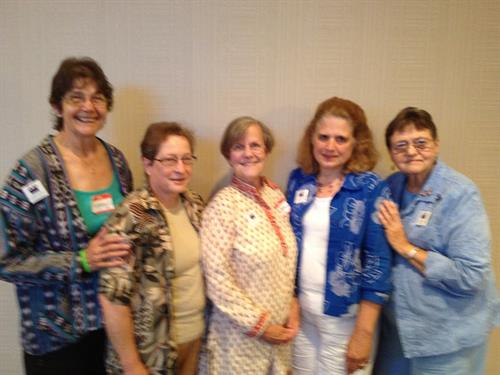 LWV Park Rapids attending membership leadership training session
