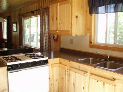 Clean furnished cabins
