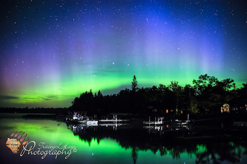 Occasionally we witness gorgeous Northern Lights