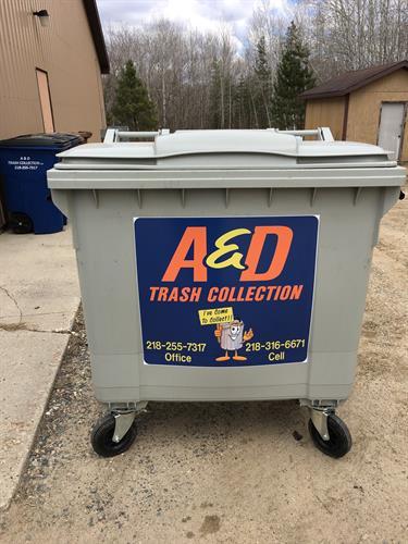 1 yard dumpster