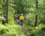 Tamarac Refuge offers over 25 miles of hiking trails.