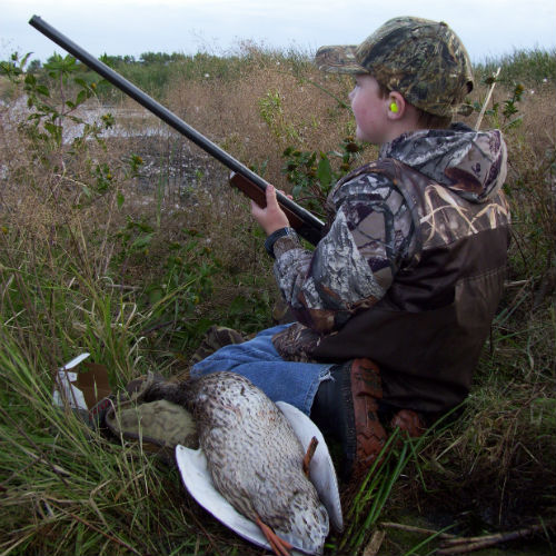 Tamarac Refuge is a prized hunting area for all ages.