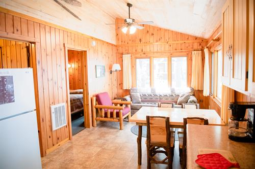 Cabin 2 recently updated.