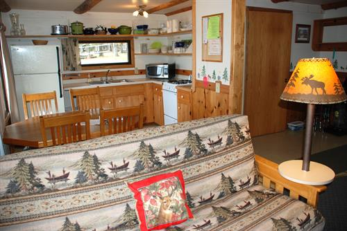 17 two & 3 bedroom cabins, (plus 2 big four bedroom cabins).   Most simple, guaranteed clean and we use all natural cleaning products (no chemicals!)