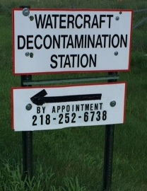 HC COLA encourages Boaters to get Free Decon in Park Rapids - Call Ahead For Appointment.