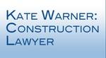 Kate Warner, Construction Lawyer