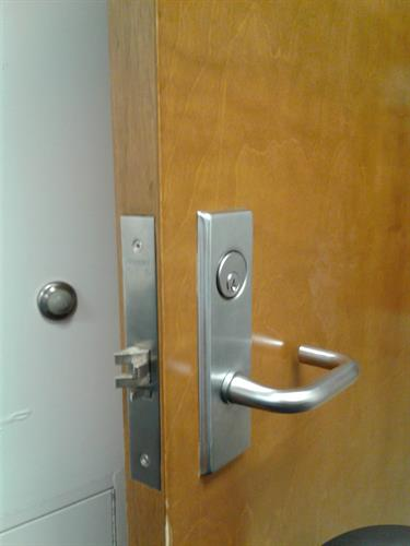 Office mortise locks
