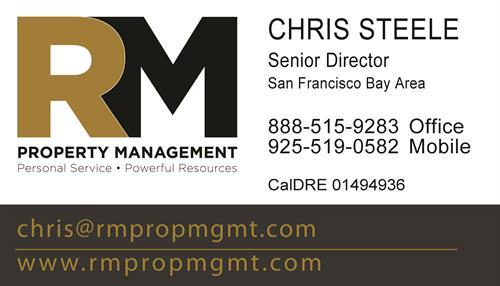 Chris Steele, RM Property Management