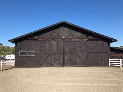 After Nicasio barn