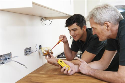 EMF, Electrical and data troubleshooting, including finding and fixing wiring errors with a licensed electrician.