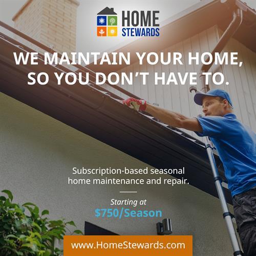 Home Steward Subscription