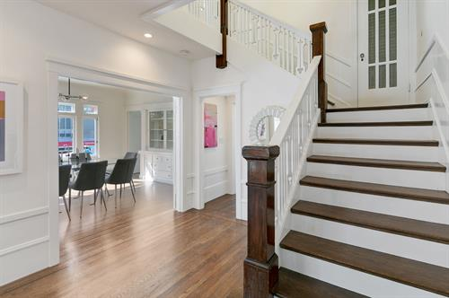 14th Ave, SF, Full home remodel - Foyer