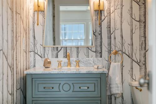 14th Ave, SF, Full home remodel - Powder Room
