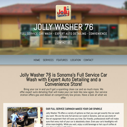 Jolly Washer Car Wash