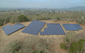 Napa Valley Country Club solar installation, SolarCraft
