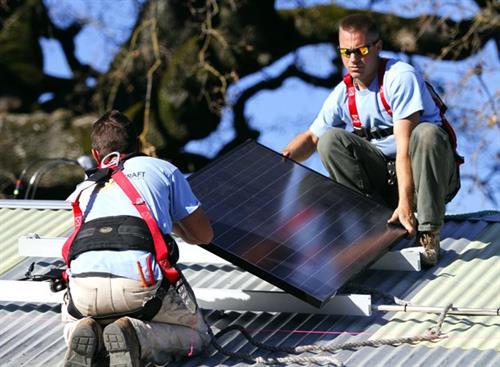 SolarCraft solar panel installers