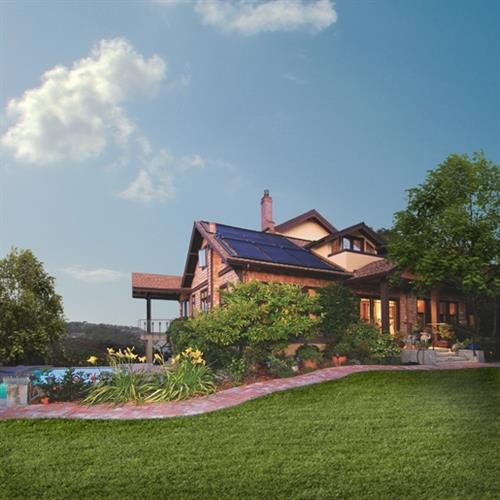 Solar pool heating installation, SolarCraft