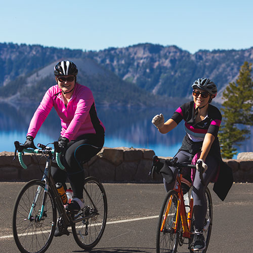 Ride the Rim at Crater Lake National Park held two consecutive Saturdays each September