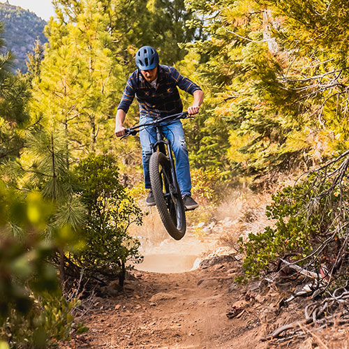 Mountain Biking at Spence Mountain, offering a network of trails for any skill level overlooking the Upper Klamath Lake