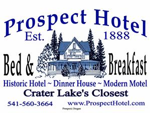 Prospect Historic Hotel Bed and Breakfast Inn - Motel and Dinner House