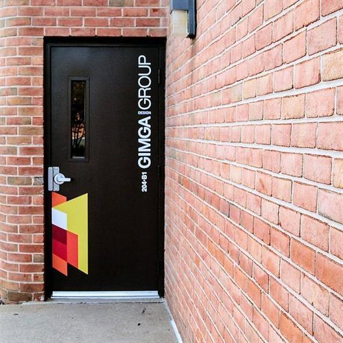 Office Door - Vienna Virginia