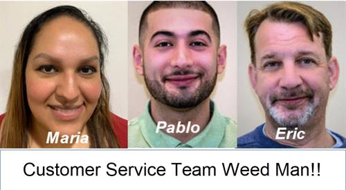 Weed Man Vienna Customer Service team