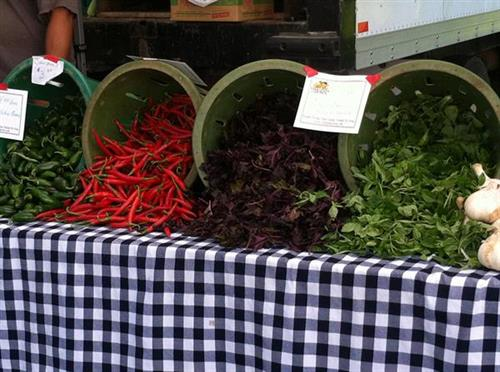 Optimists operate the Vienna Saturday Farmers Market from May through October.