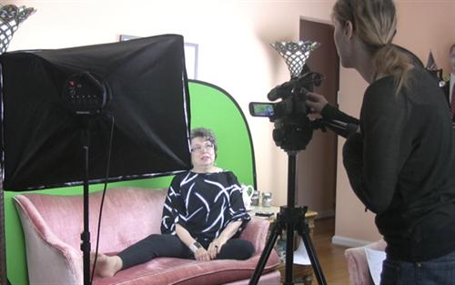 Filming Joan Porte
