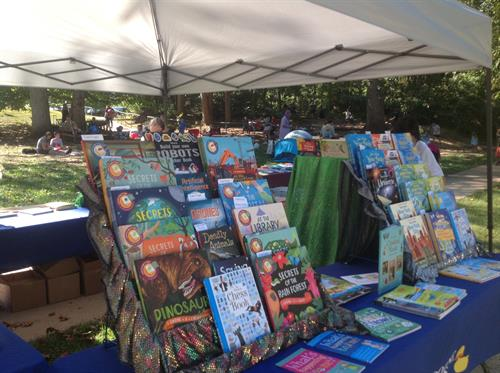 "Annual book fair at ""Compass Homeschool enrichment program"""