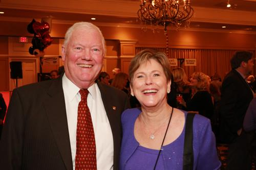 Ted and Shirley Buford at Casino Night.