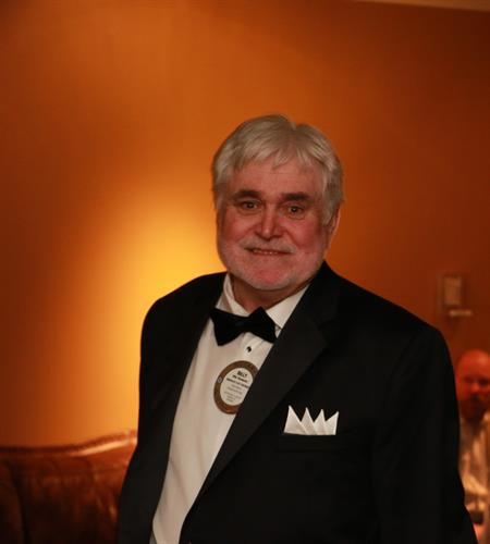 Billy Thompson at Casino Night.