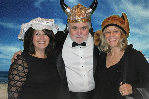 Rebecca Diamond, Billy and Pam Thompson -incognito! Save the date March 11, 2017.