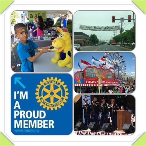 Viva Vienna celebrated every Memorial Day weekend. Volunteer thru Rotary Club of Vienna.