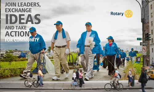 Global initiatives; Local members.