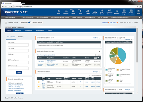 Paychex Flex Hiring Streamlines the New-Hire Process through Powerful Technology