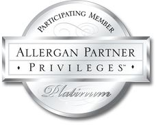SKINfinity is a PLATINUM PARTICIPATING MEMBER of ALLERGAN
