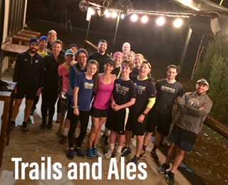Trails and Ales lead by Grass Roots Fitness Monday nights at Caboose Brewing Co.