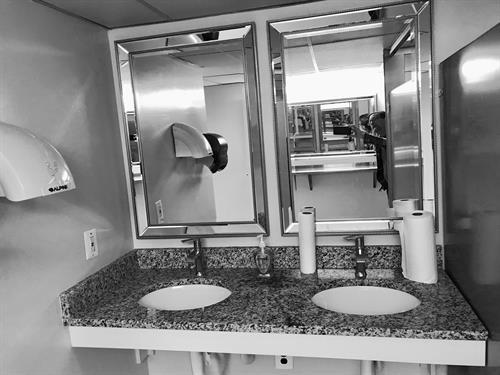 Vienna Moose lodge new bathrooms