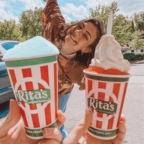 Enjoying Rita's