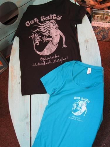 Get Salty t-shirts